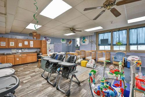 care bear daycare room