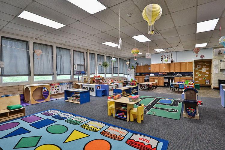 Gummy Bear daycare room